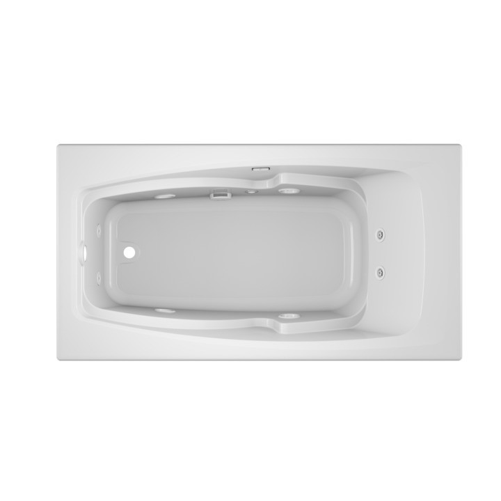 Cetra® 6032 Drop-in Whirlpool White