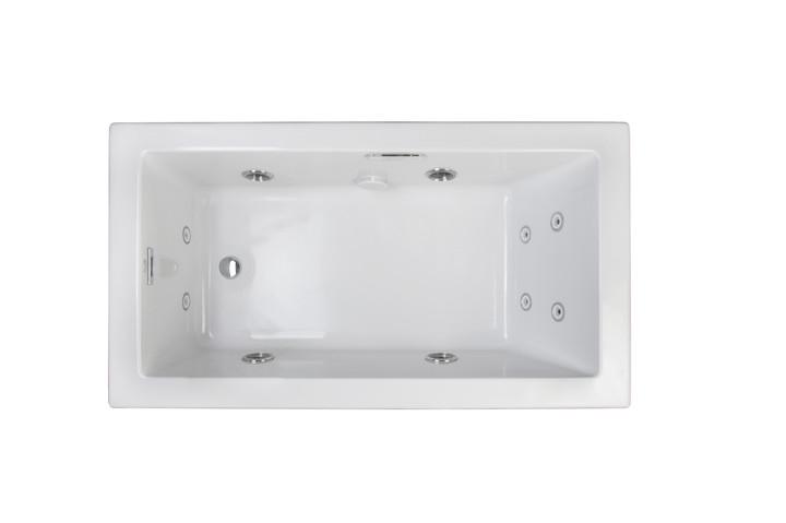 Elara® Low Profile Whirlpool White