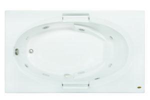 Majora® Skirted Whirlpool White