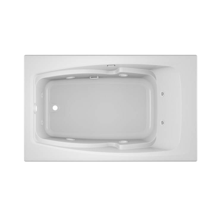 Cetra® 6036 Drop-in Whirlpool White