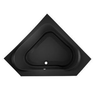 Capella® 6060 Drop-in Soaking Black