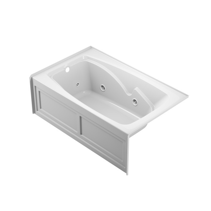 Cetra® 6036 Skirted Whirlpool White