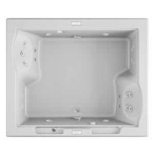 Fuzion® 7260 Dual Whirlpool White