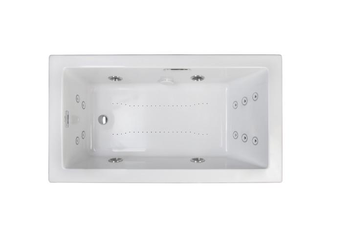 Elara® Salon® Spa White