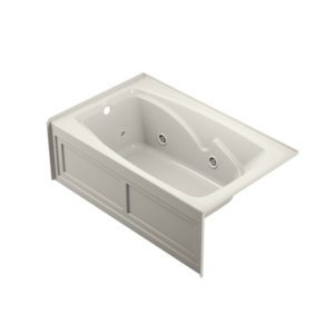 Abri™ 6036 Skirted Whirlpool Oyster