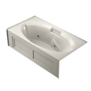 Celia™ 7236 Skirted Whirlpool Oyster