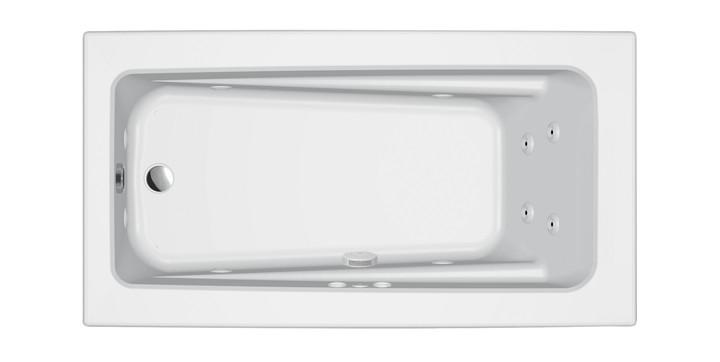 Primo® 6032 Drop-in Whirlpool White