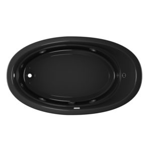 Riva 7242 whirlpool in black