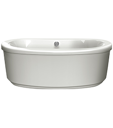 Bravo Oval freestanding Bath in Oyster