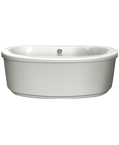 Bravo Oval freestanding Bath in Oyster