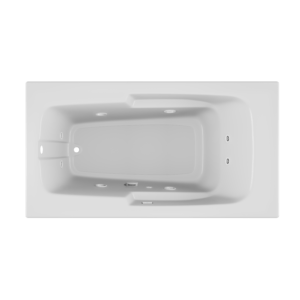 Cetra Bath Soaking experience in White