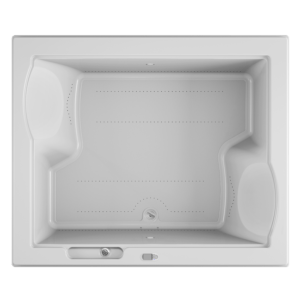 Fuzion 72x60 Bath with Pure Air experience in White