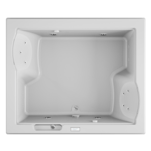 Fuzion Whirlpool experience Bath in White