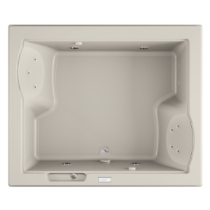 Fuzion Bath with Whirlpool experience in White