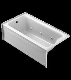 Signature® Rectangle Bath in White
