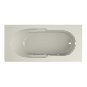 Signature Rectangle bath in White