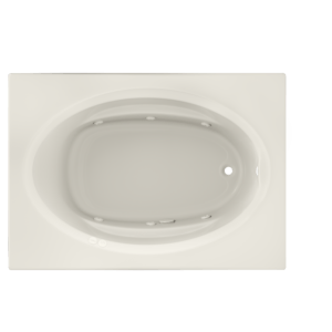 Signature Oval With Whirlpool Experience Bath in Oyster