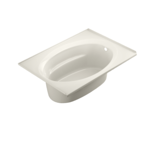 Signature Oval Bath in Oyster