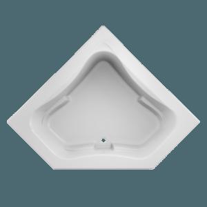Signature Corner Bath in White