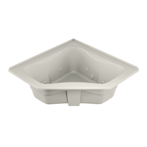 Signature Corner Bath With Whirlpool Experience in Oyster