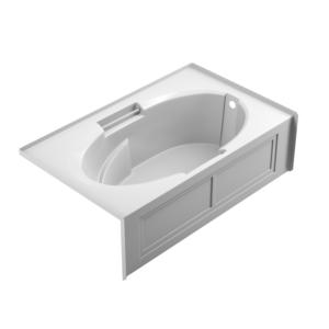 Majora 7242 skirted bath in white