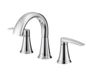 Lyndsay Widespread Faucet in Chrome