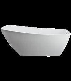Stella Freestanding Bath in White