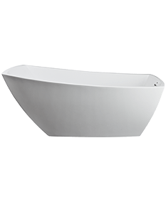 Stella Freestanding Bath in White
