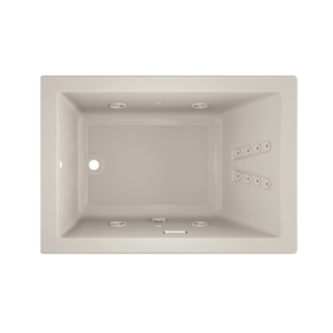 Solna Pure 6042 Whirlpool Bath in oyster