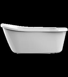 Arietta Freestanding Bath in White