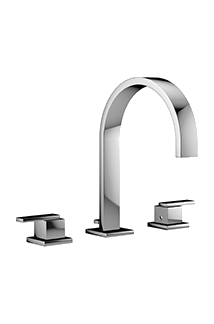 Mincio Chrome Widespread faucet