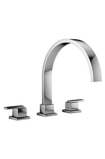 Mincio Chrome Roman Tub Filler