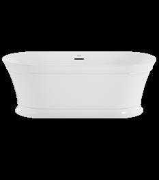 Serafina 67'x31' Freestanding Bath in White
