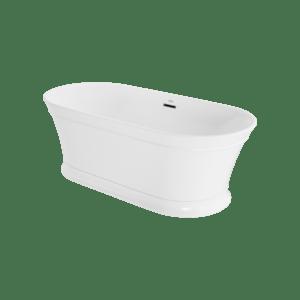 Serafina 67x31 Freestanding Bath in White