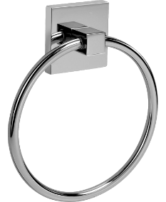 Mincio Towel Ring in Chrome