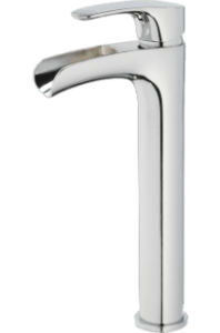 Callum Vessel Filler Faucet in Polished Chrome