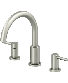 Duncan Roman Tub Faucet in Brushed Nickel