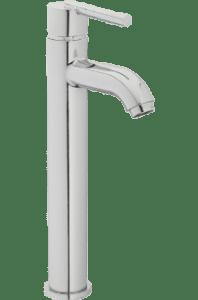Elgin Vessel Filler Faucet in polished Chrome
