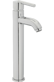 Elgin Vessel Filler Faucet in polished Chrome