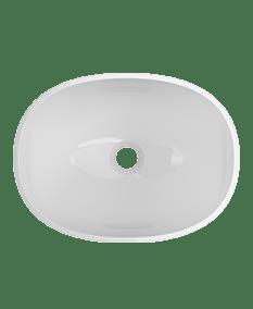Contento Vessel Sink in White
