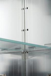Jacuzzi Oval Single Door medicine Cabinet