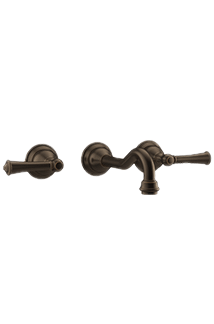Barrea Wall-Mount faucet in Olive Bronze