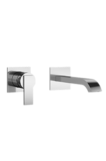 Mincio Wall-Mount faucet in Chrome