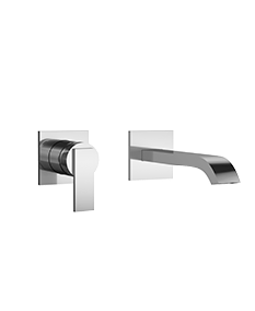 Mincio Wall-Mount Faucet in Polished Chrome