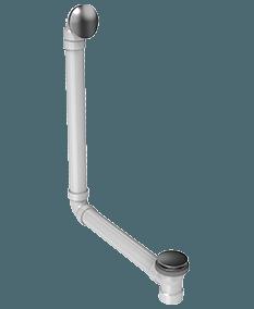 Slip cover drain skit feature