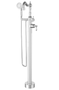 Ardmore Polished Chrome Tub Filler