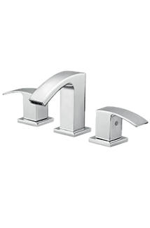 Nass Widespread Faucet in Chrome