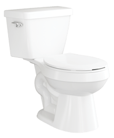 Primo Round Toilet by Jacuzzi