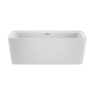 Adatto™ Deck Freestanding Bath in White