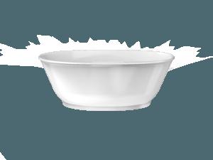 Karina Freestanding Bath in White Gloss